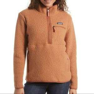 NWT Medium Patagonia Retro Pile Tan Sweater